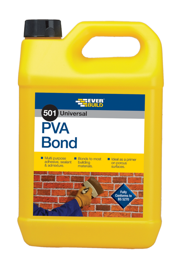 Everbuild 501 PVA Bond 2.5L