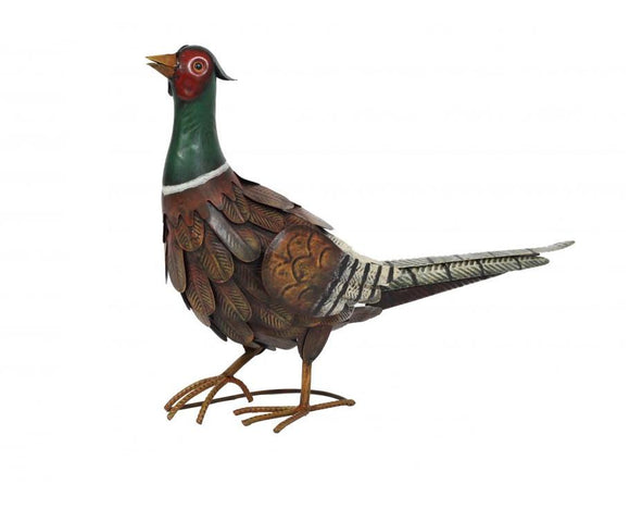 La Hacienda Metal Regal Pheasant with Coloured Realistic Finish