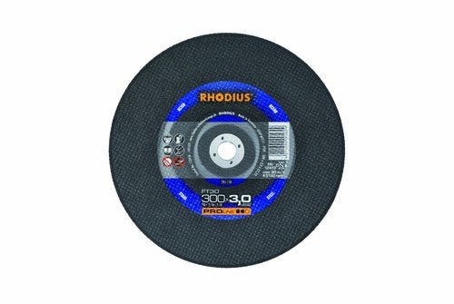 Rhodius 300 x 3 x 20mm FT30 Cutting Disc Steel