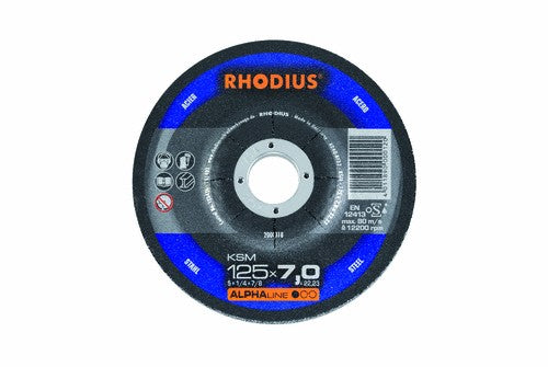 Rhodius 230 x 7 x 22.23mm KSM Grinding Disc Steel