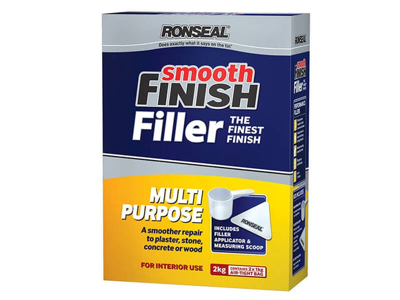 Ronseal Multi Purpose Powder Smooth Finish Filler 2kg