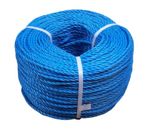 Rope Poly Blue 8mm - price per metre