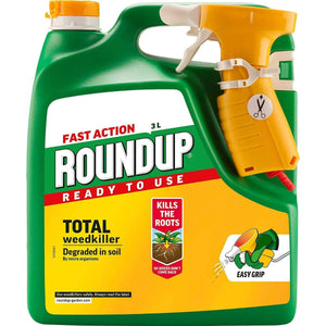 You added <b><u>Roundup Fast Action Ready To Use Weedkiller 3L</u></b> to your cart.
