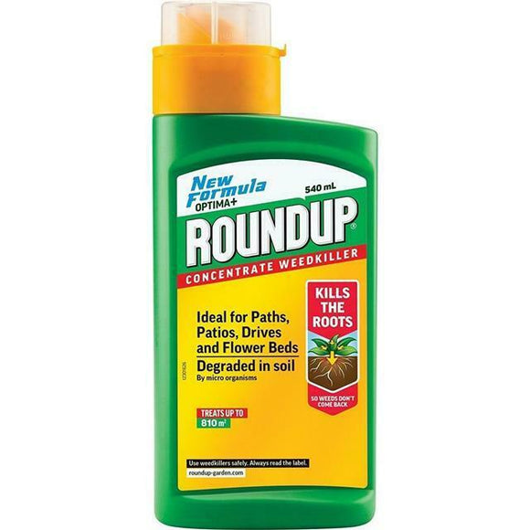 Roundup Optima+ Weedkiller Concentrate 540ml