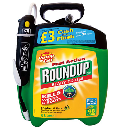 Roundup Fast Action Ready To Use Weedkiller Pump 'N Go 5L