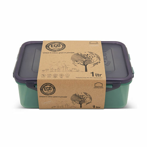 LocknLock Eco Rectangular Storage Container 1L