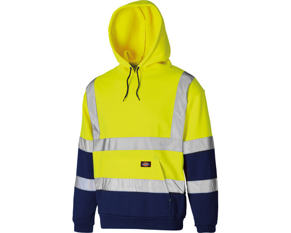 Dickies Hi-Vis Hoody Fluorescent Yellow
