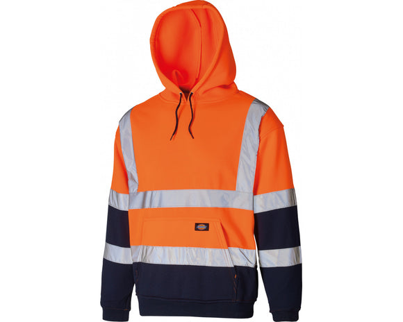 Dickies Orange Hi-Vis Hoody