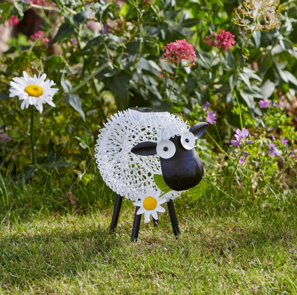 Smart Solar Silhouette Dolly Sheep