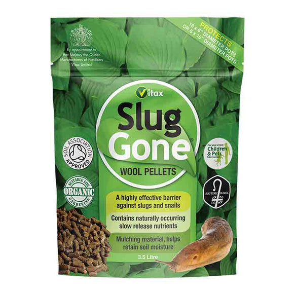 Vitax Slug Gone Wool Pellets 3.5L