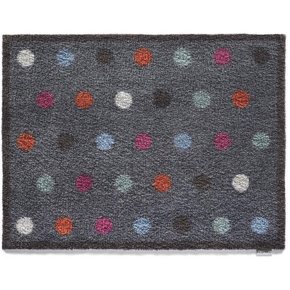 Hug Rug Door Mat | Spot 12 Charcoal