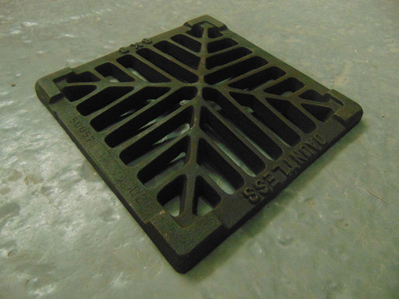 Cast Iron Gully Grate Square 9