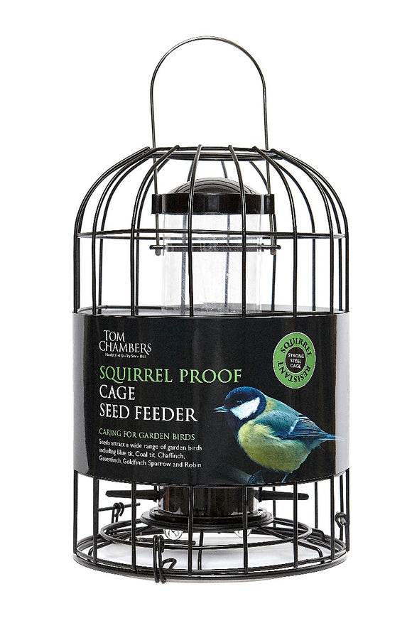 Tom Chambers Squirrel Seed Feeder