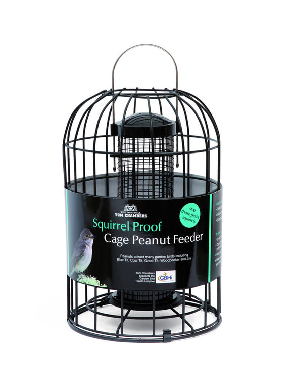 Tom Chambers Squirrel Proof Cage Nut Feeder