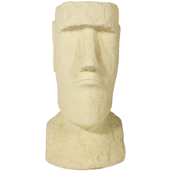 Willowstone Cream Easter Island Planter ST48C