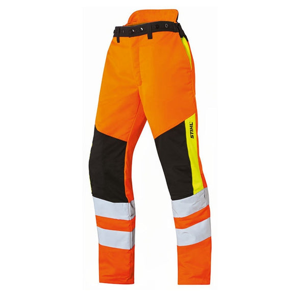 STIHL PROTECT MS Cut Protection & High Visibility Trousers