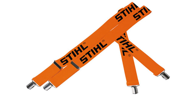 STIHL Braces with Metal Clips Orange 110cm