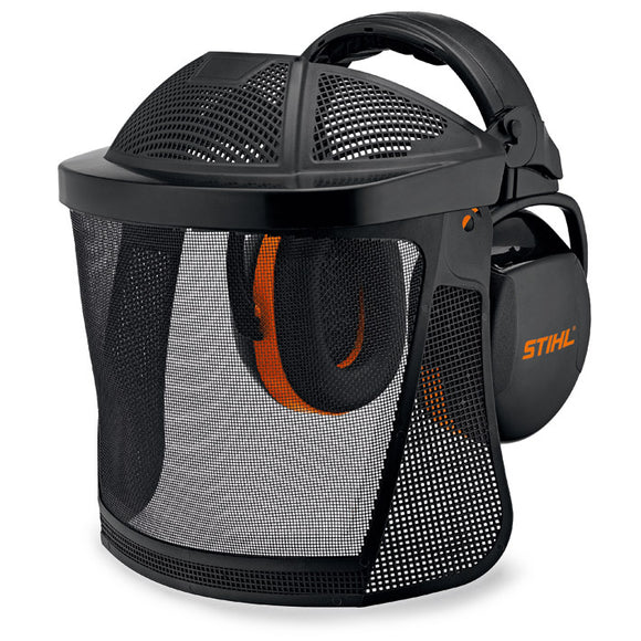 STIHL Face & Ear Protection with Nylon Mesh Visor