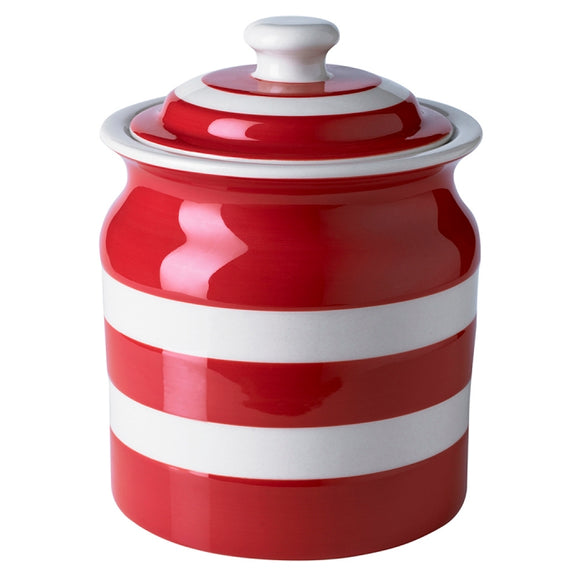 Cornishware Cornish Red Large Storage Jar 59oz