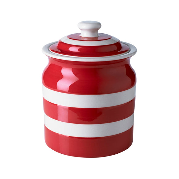 Cornishware Cornish Red Plain Storage Jar 30oz