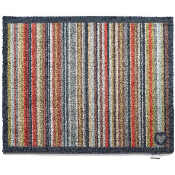 Hug Rug Door Mat | Stripe 32 Multi-Colour