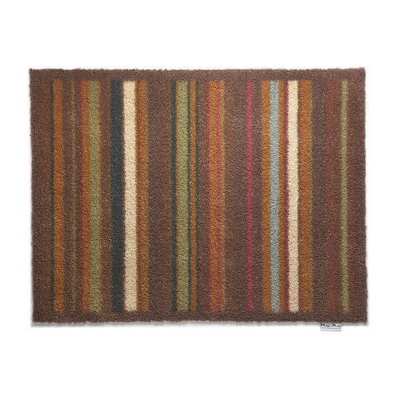 Hug Rug Door Mat | Stripe 70 Orange