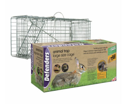 Defenders Live Animal & Rabbit Cage Trap Large
