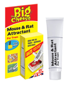 The Big Cheese Rat & Mouse Attractant Syringe for Traps 26g