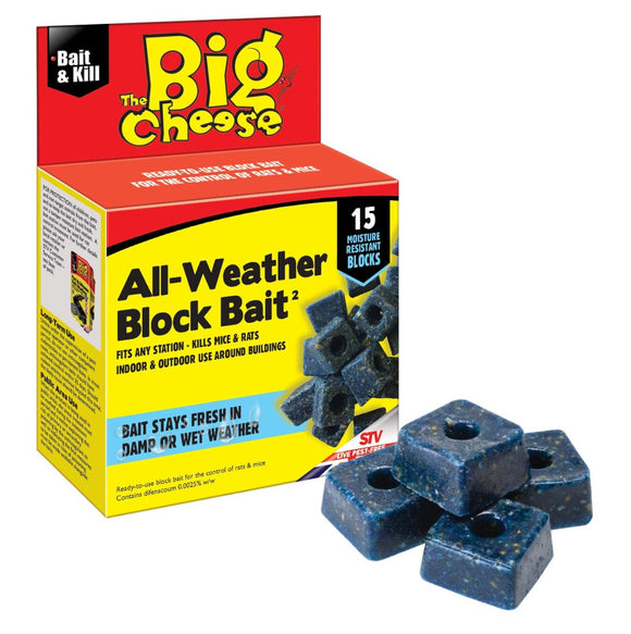 The Big Cheese All Weather Block Bait 15 Blocks