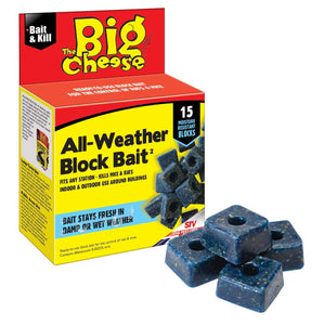 You added <b><u>The Big Cheese All Weather Block Bait 15 Blocks</u></b> to your cart.