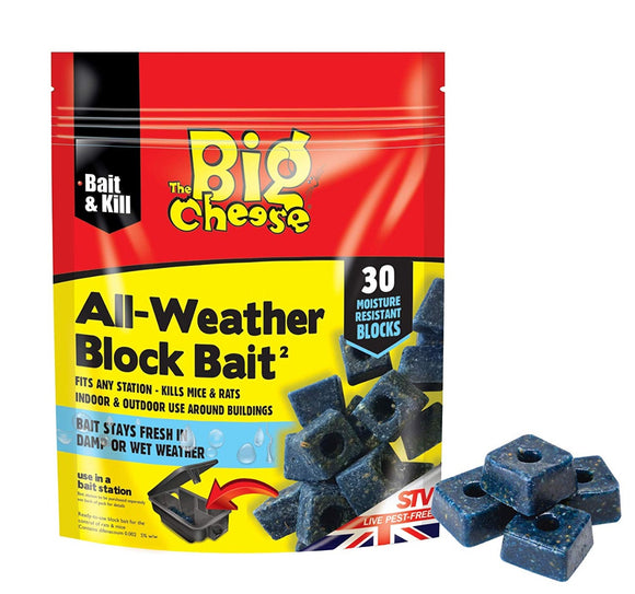 The Big Cheese All Weather Block Bait 30