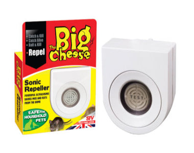 You added <b><u>The Big Cheese Sonic Repeller Rat & Mouse</u></b> to your cart.