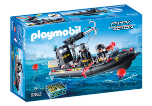 Playmobil City Action SWAT Boat 9362