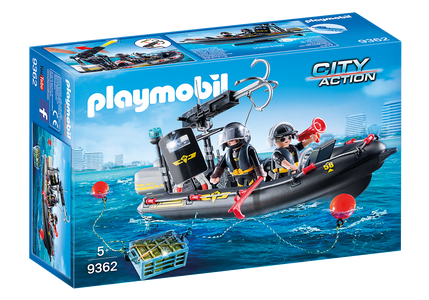 You added <b><u>Playmobil City Action SWAT Boat 9362</u></b> to your cart.