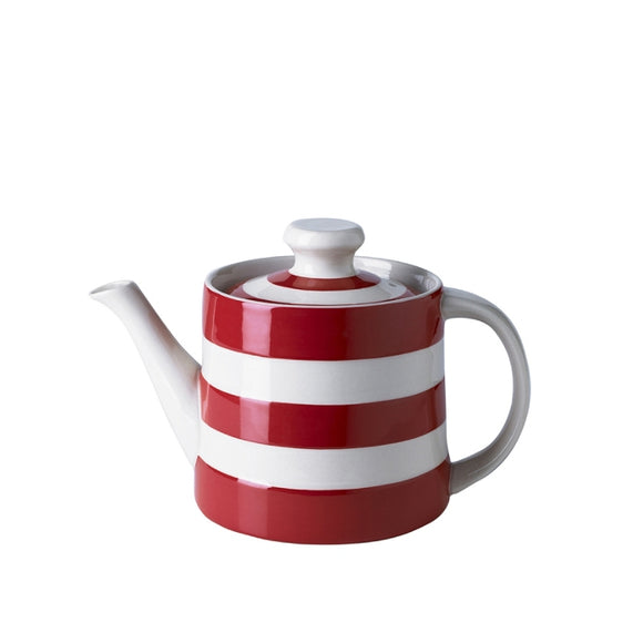 Cornishware Cornish Red Tea Pot  24oz