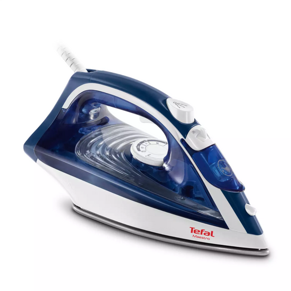 Tefal Maestro Steam Iron Blue & White