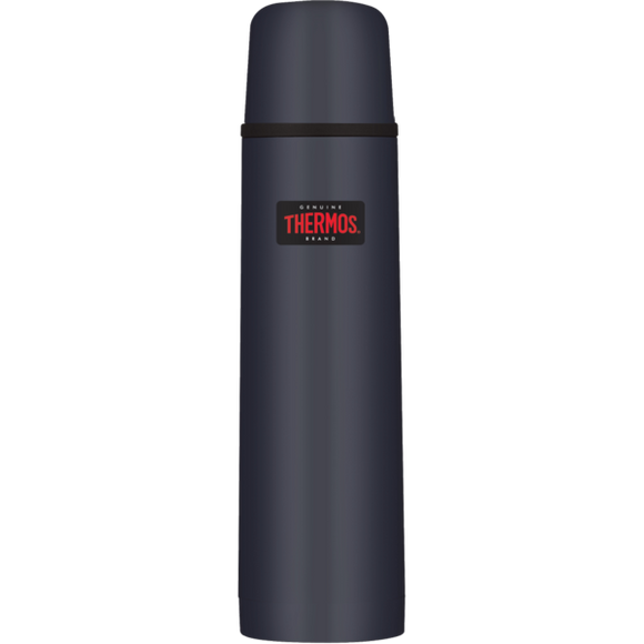 Thermos Light & Compact Flask 1.0L Midnight BLue