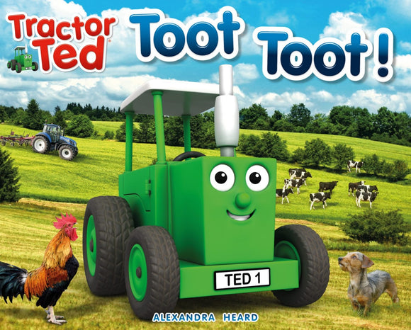 Tractor Ted Toot Toot! Story Book