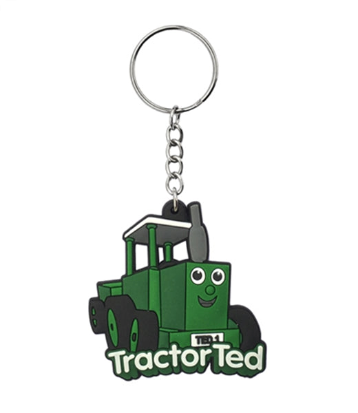 Tractor Ted Keyring
