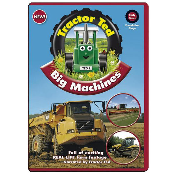 Tractor Ted Machines DVD