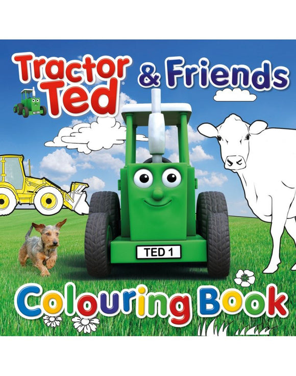 Tractor Ted & Friends Colouring Book