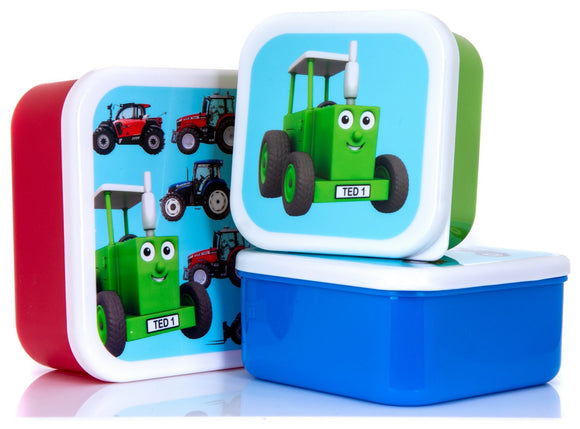 Tractor Ted Snack Pots Tractor