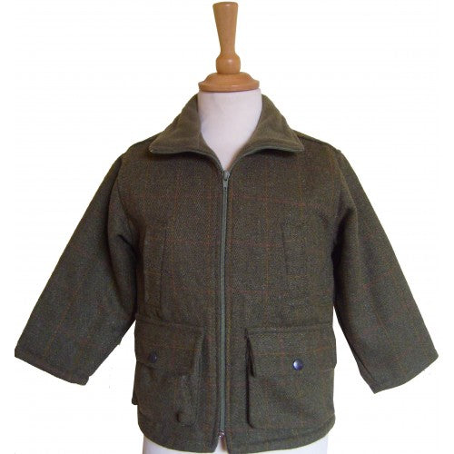 British Country Collection Boys Tweed Jacket