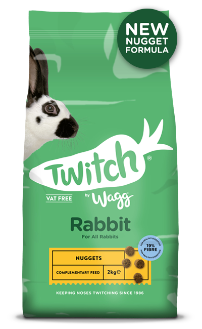 Twitch by Wagg Rabbit Nuggets 2kg