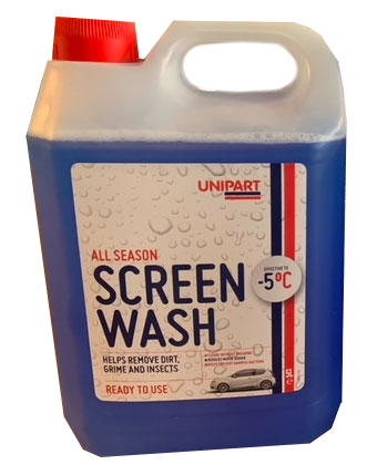 Unipart Ready to Use Screen Wash 5L