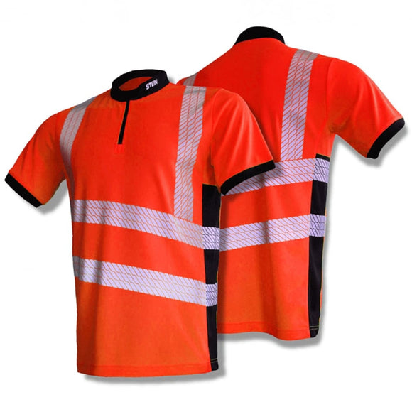 STEIN X25 VENTOUT Hi-Viz T-Shirt Short Sleeve Orange