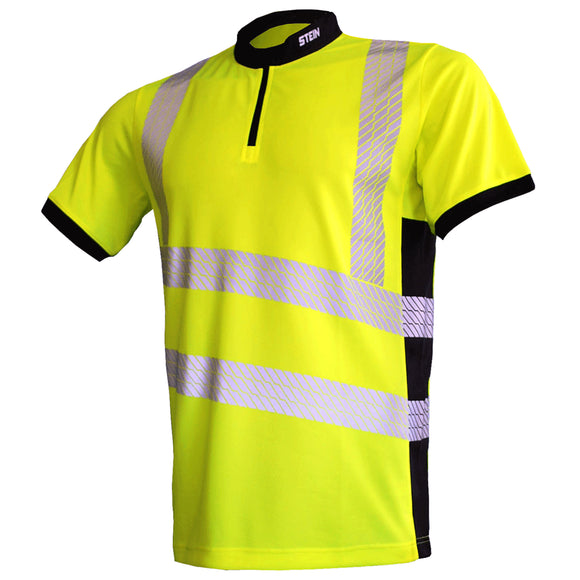 STEIN X25 VENTOUT Hi-Viz T-Shirt Short Sleeve Yellow