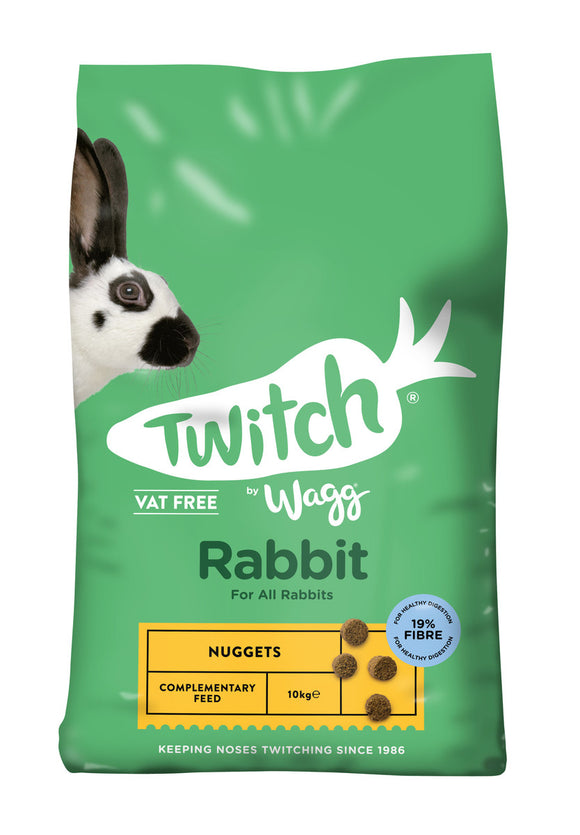 Twitch by Wagg Rabbit Nuggets 10kg