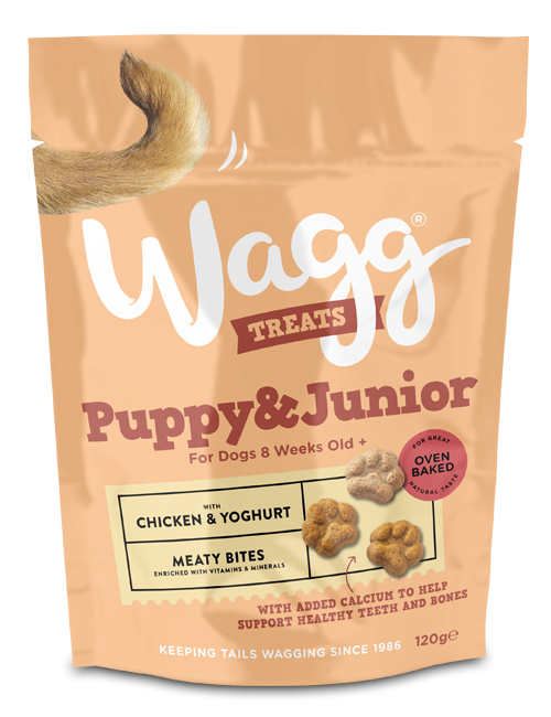 Wagg Puppy & Junior Treats with Chicken & Yoghurt 120g