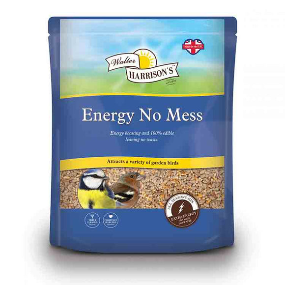 Walter Harrison's Energy No Mess Bird Seed Pouch 2kg